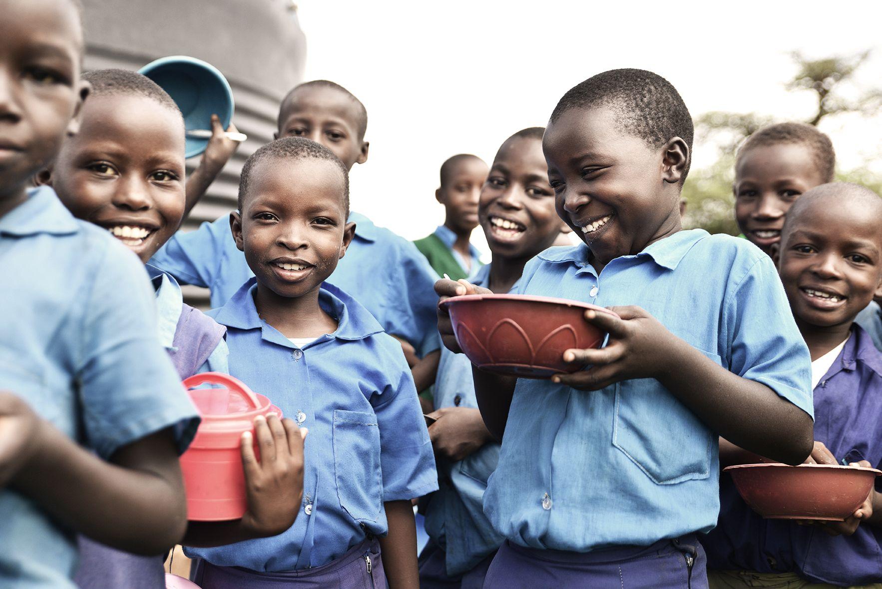 Lunch till Kenyas skolbarn