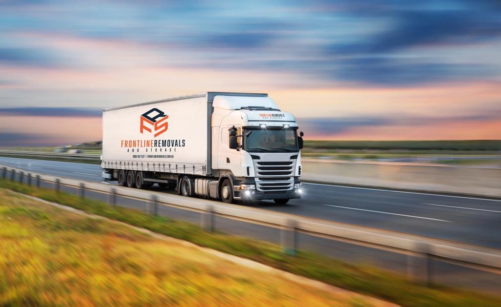 Frontline moving truck