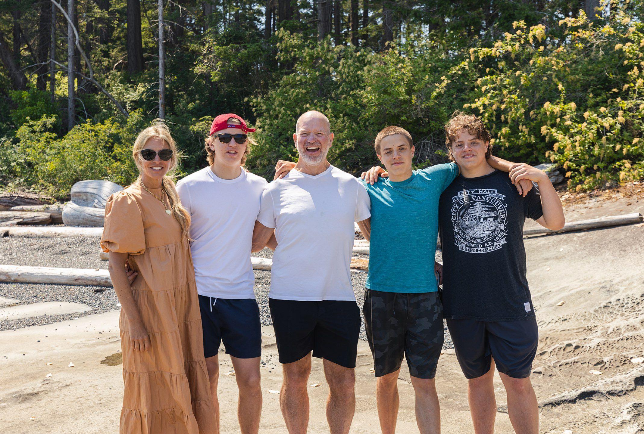 Chip Wilson family