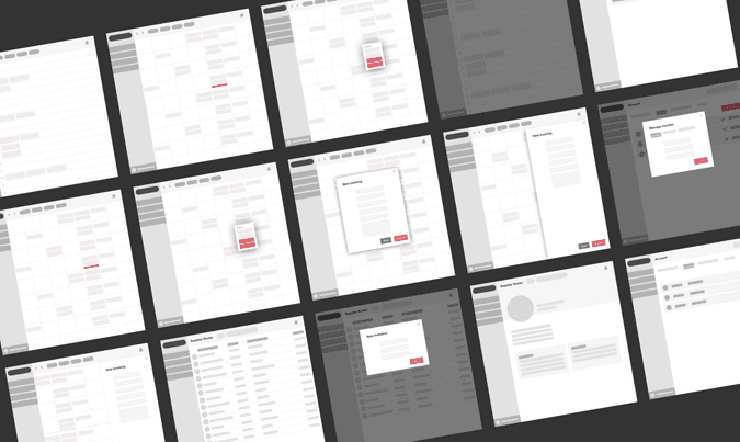 Hi-level wireframes
