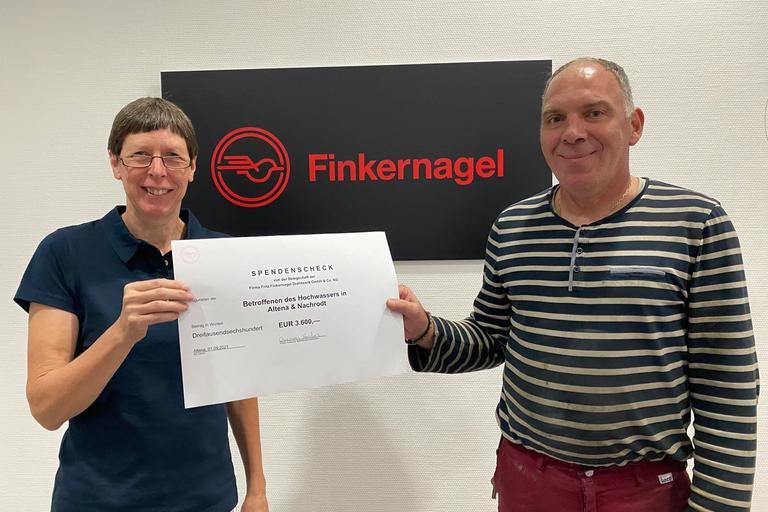 3.600 EUR für Altenaer Hochwasser-Opfer