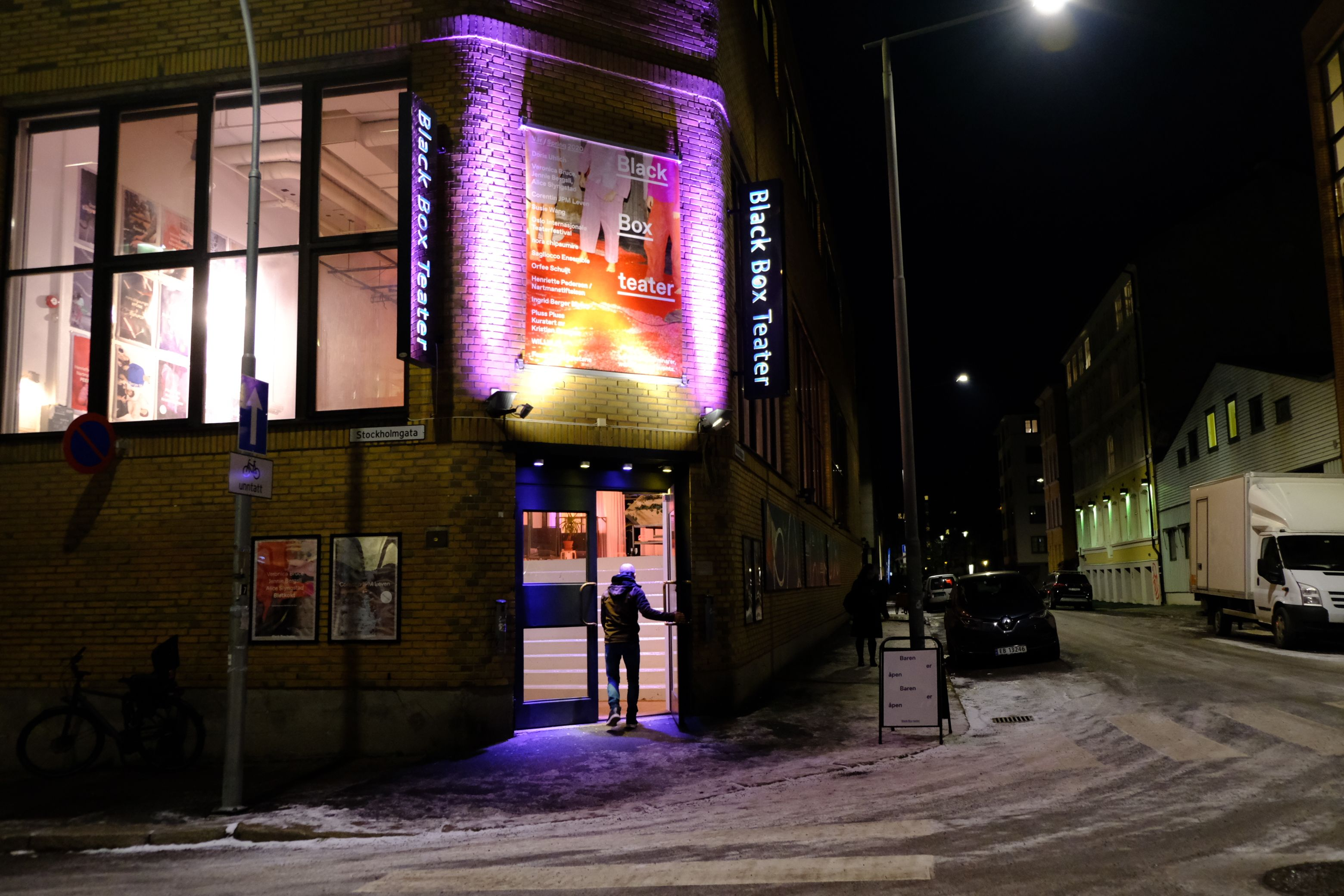Fasaden i Marstrandgata