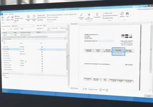 Fakturering bliver nemmere med Continia Document Capture
