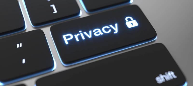Cookies og privacy politik, data beskyttelse