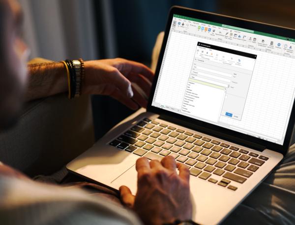 Excel data integreret i Jet Reports