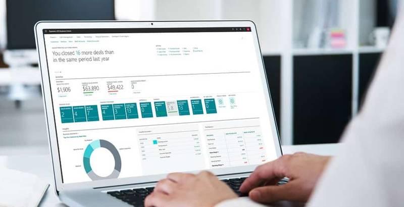 Flexibel og effektiv ERP-løsning med Business Centrals moduler