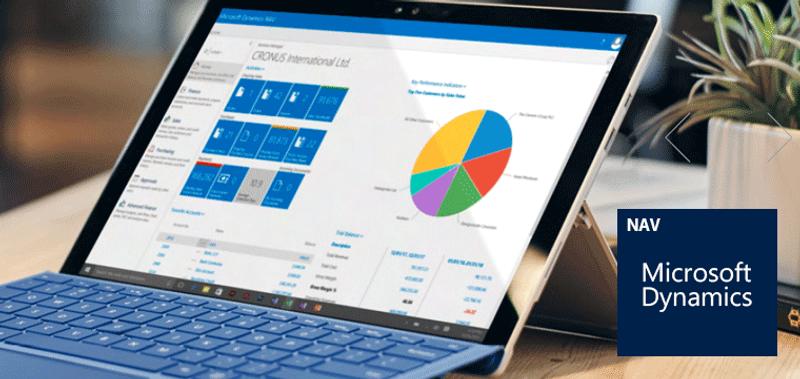 ERP løsninger baserede på Microsoft Dynamics NAV og Business Central