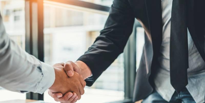 Business aftale om leverandørskift