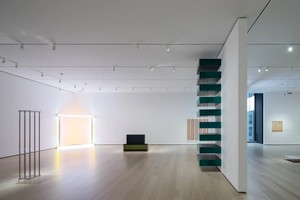 Installation View of David Geffen Wing gallery 413, Breaking the Mold, The Museum of Modern Art