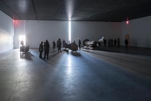Installation view of Trisha Donnelly, Level 4 Gallery