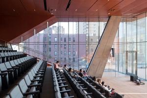 300-seat multi-purpose auditorium and exterior terrace