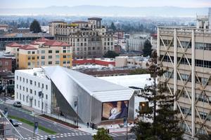 Aerial view from the UC Berkeley campus