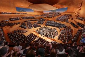 Concept Design: Centre for Music Concert Hall