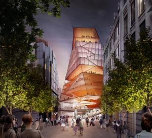 Concept Design: Centre for Music Exterior View