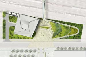 United States Olympic Museum site plan