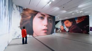 View of Cindy Sherman exhibition