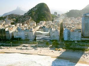 Exterior view of Copacabana Boulevard