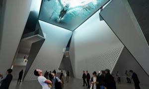United States Olympic Museum lobby atrium