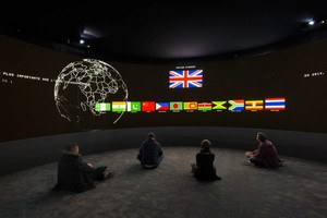 Panoramic video projections on remittances