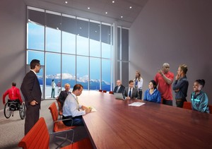 United States Olympic Museum boardroom