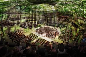Concept Design: Centre for Music Concert Hall Projection