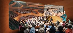 Concept Design: Centre for Music Concert Hall Education Pod