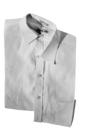 Skewed left panel shirt