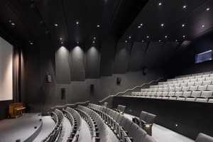 Interior view of the Barbro Osher Theater