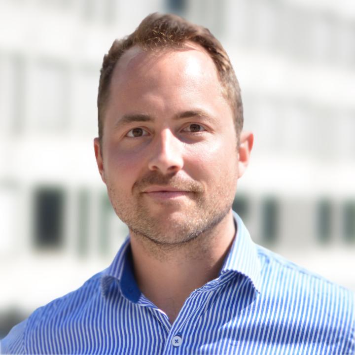Bilde av prosjektleder Lars Martin Riiser Haraldsen