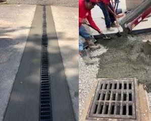 concrete-surrounding-drain