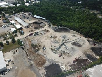 overhead-view-of-recycling-yard