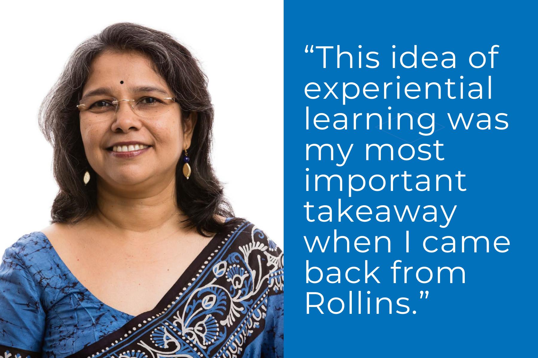 Global Links Scholar Sharmistha Banerjee