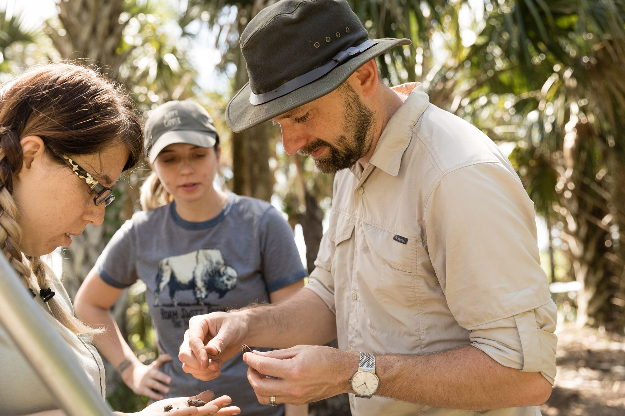 Anthropology professor Zack Gilmore discusses the significance of recently recovered shells and shards from a 5,000-year-old Native American site.