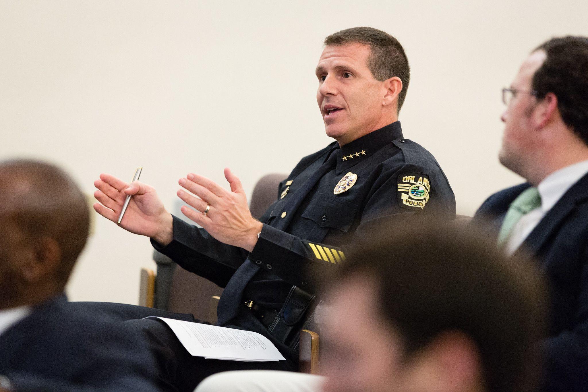 Orlando Chief of Police John Mina