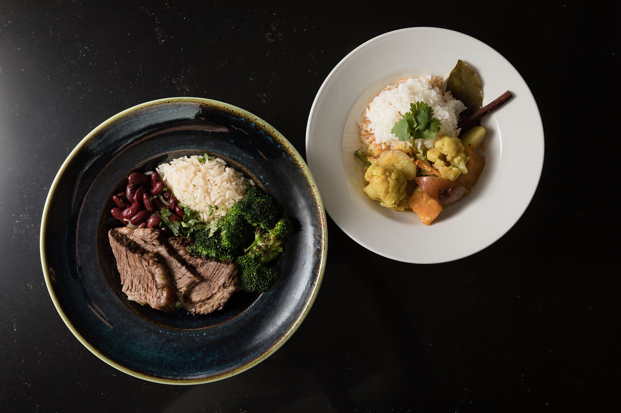 Healthy, hearty options are on the menu at Skillman Dining Hall's Simple Servings station