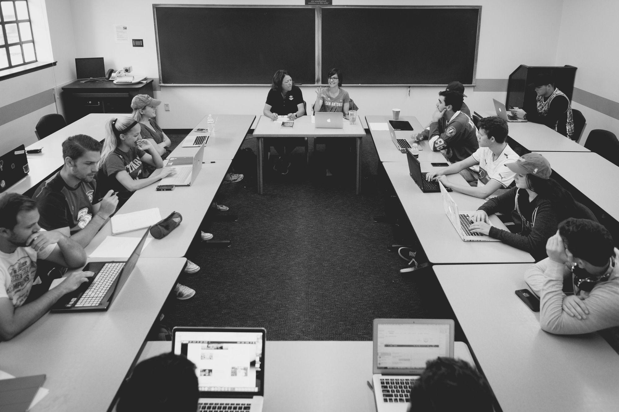The Sports Analytics classroom.