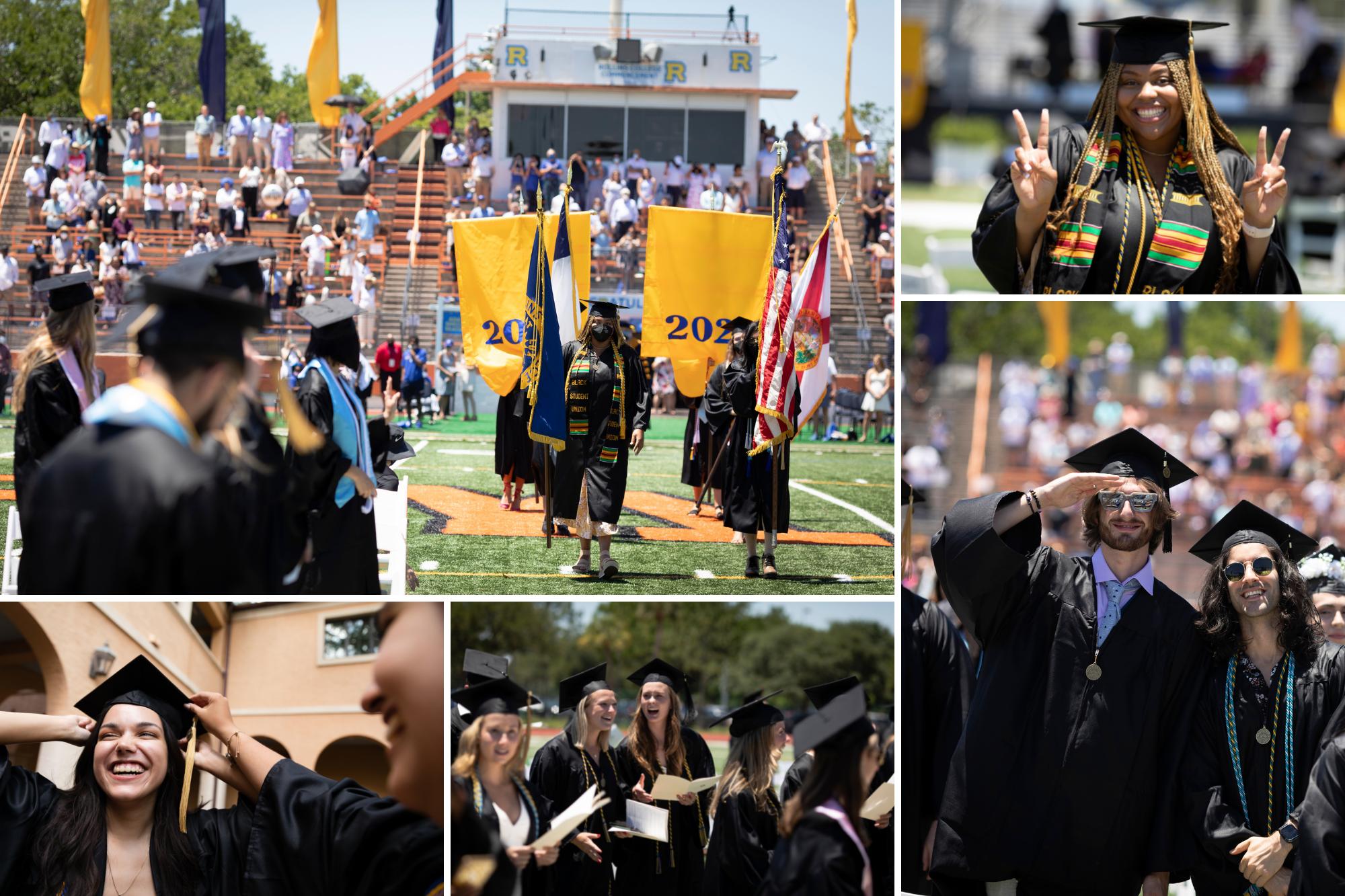 Scenes from graduation