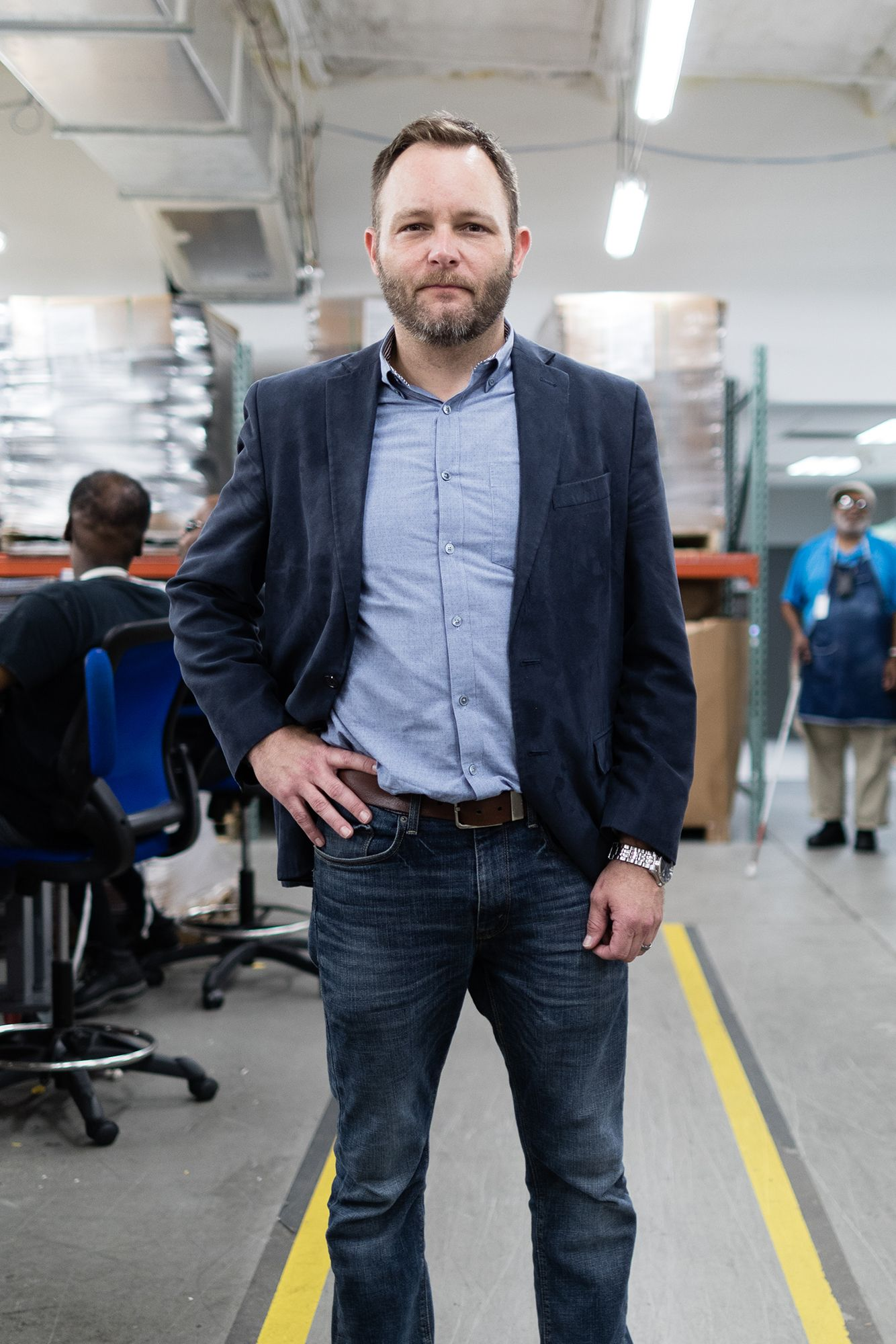 Kyle Johnson, CEO of Lighthouse Works