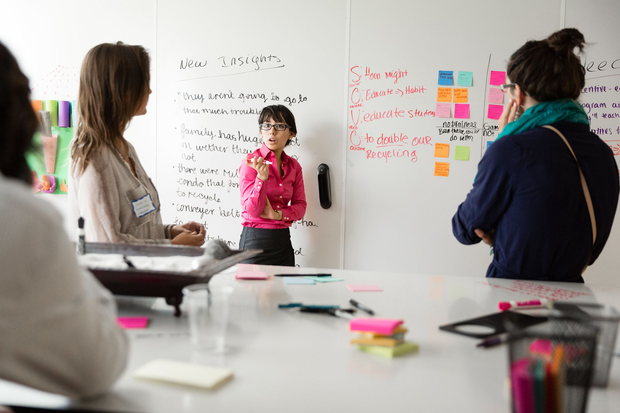 Social entrepreneurship students implement ideas around human-centered design thinking at the AdventHealth Innovation Lab.