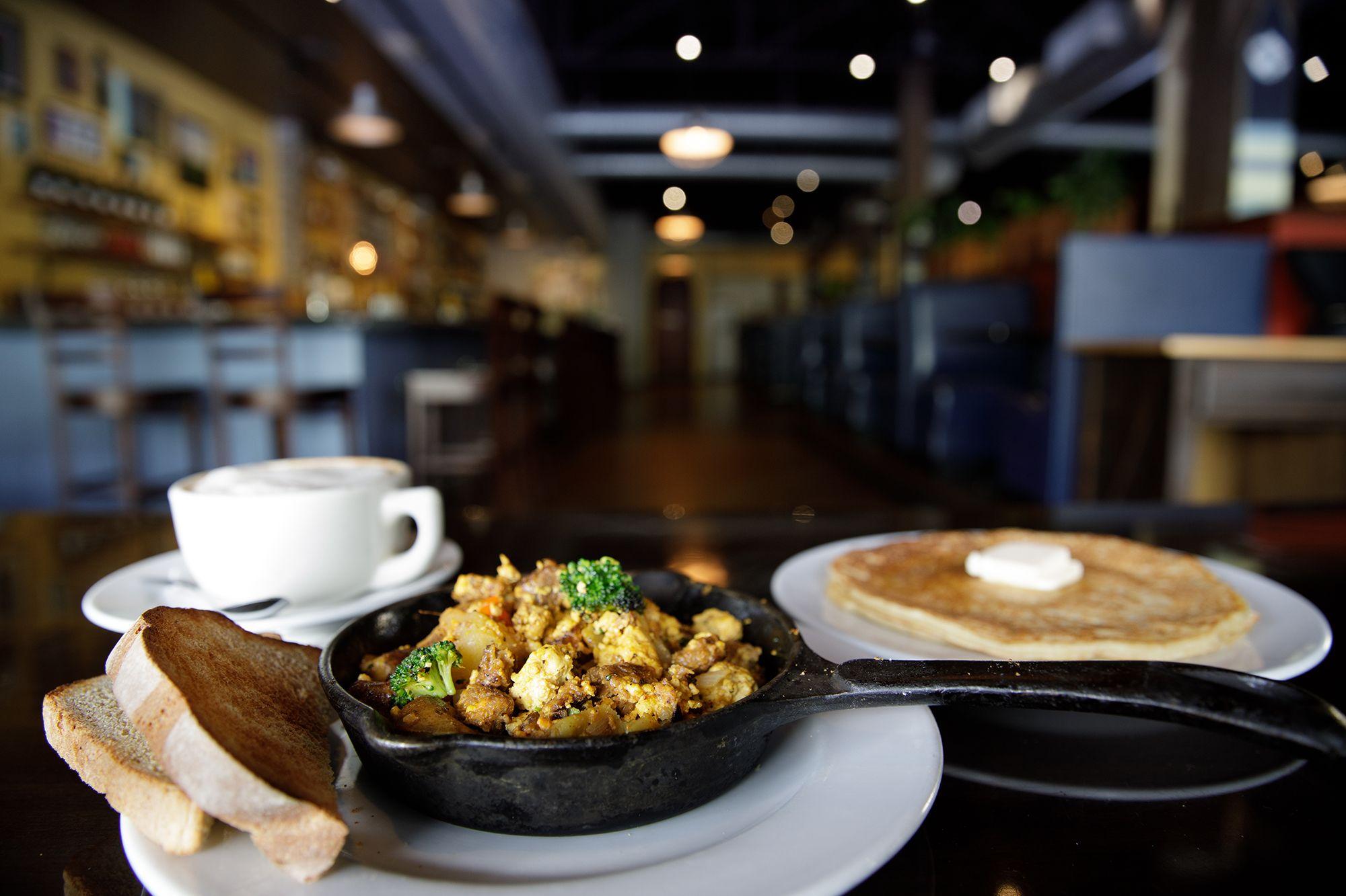 Vegan feast at local favorite Ethos