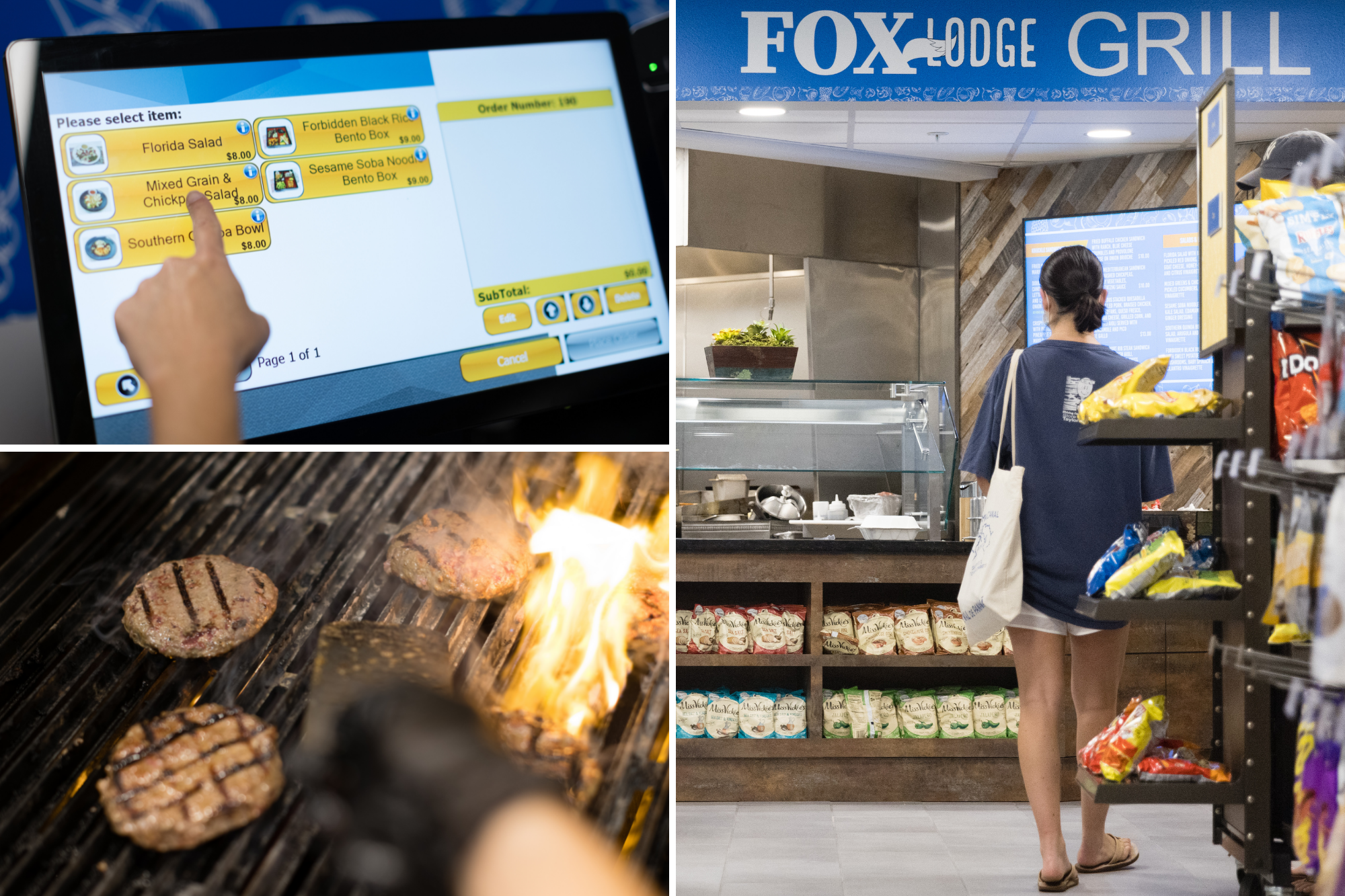 Mobile ordering at the Grill