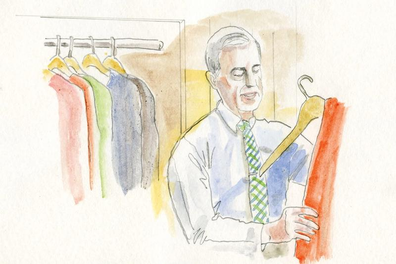 An illustration of Mister Rogers