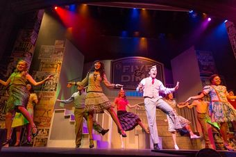 A Rollins theatrical production at the Annie Russell Theater.