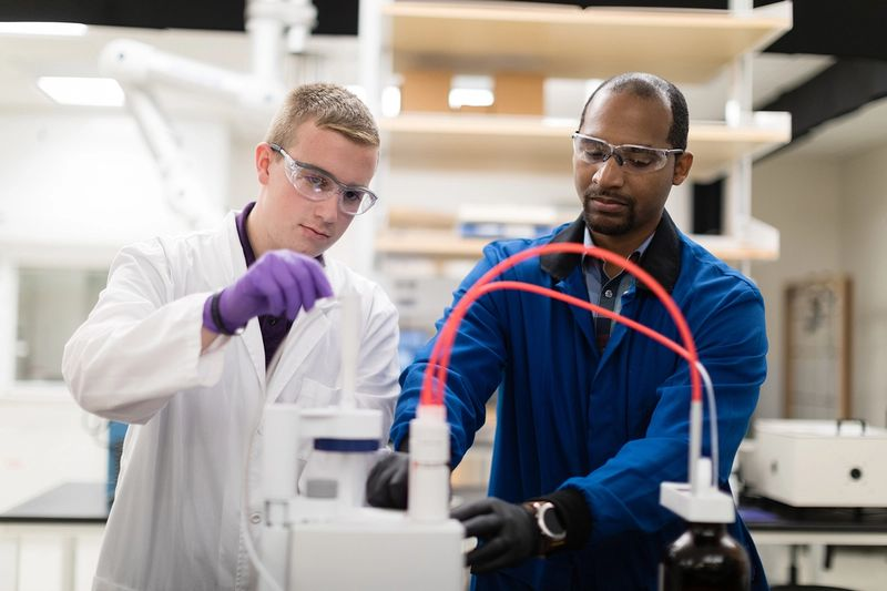 Student-faculty chemistry research