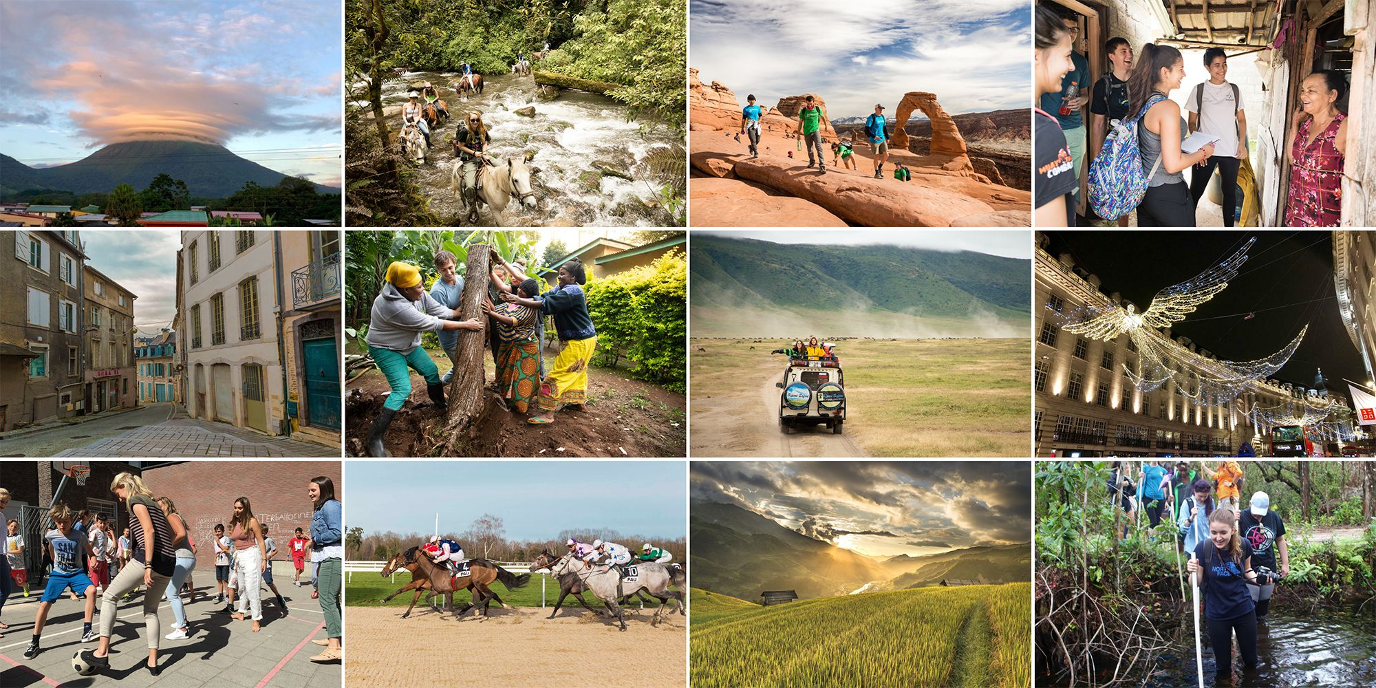 A sampling of Rollins many study abroad experiences, from Costa Rica and Tanzania to London and the Dominican Republic.