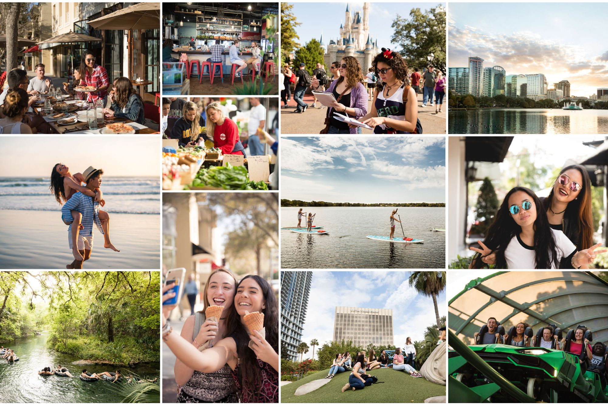 From Disney World and watersports to cute cafes and outdoor excursions, Orlando is a vibrant college city.