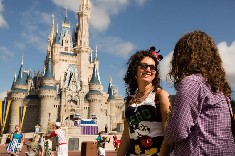Rollins students at Disney World.