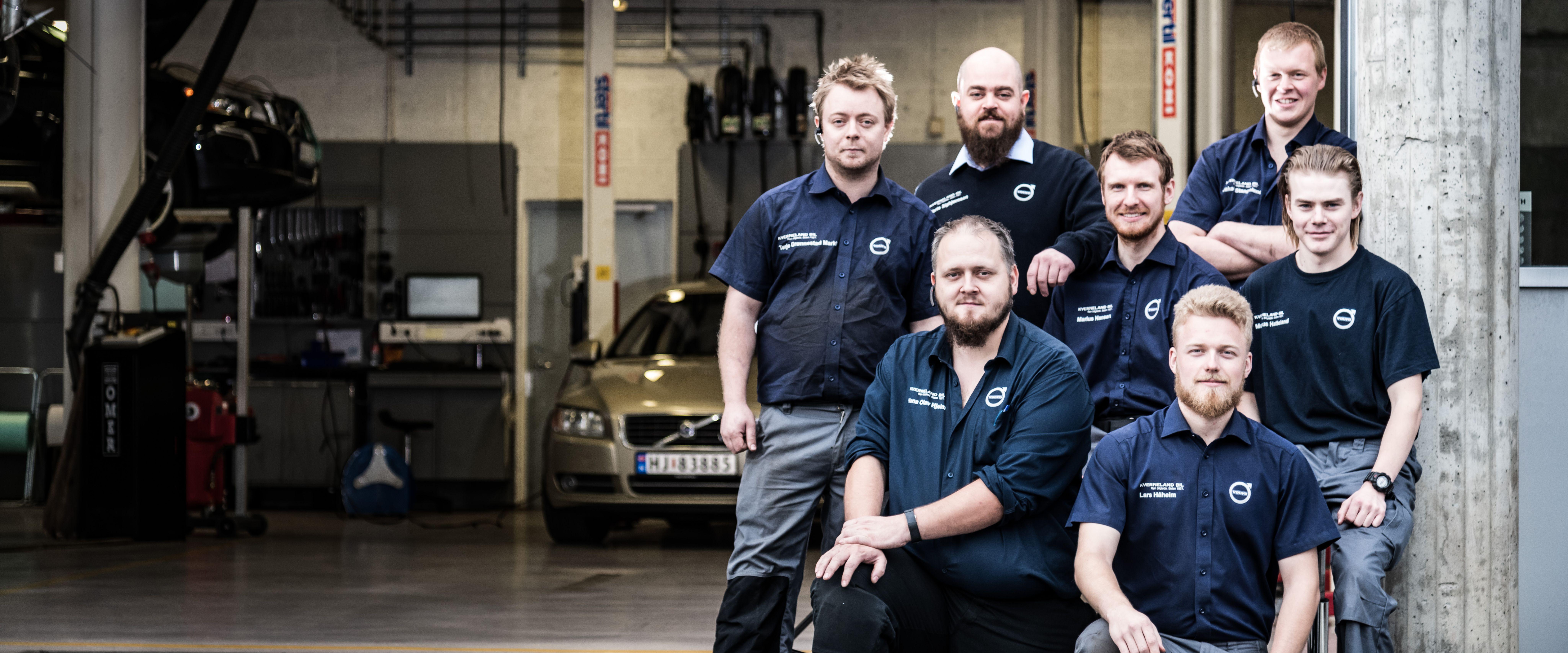 De ansatte på Kverneland Bil | Mariero