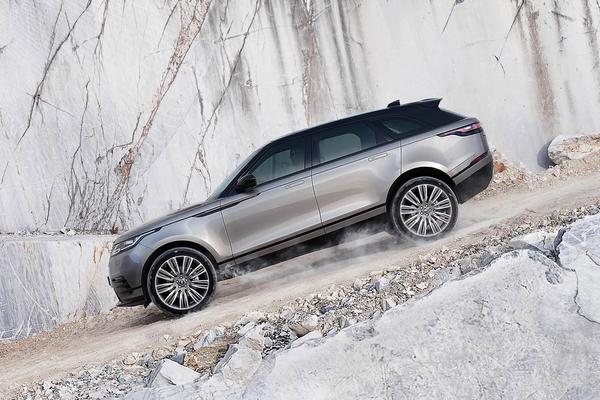 Illustrasjonsbilde av Range Rover Velar