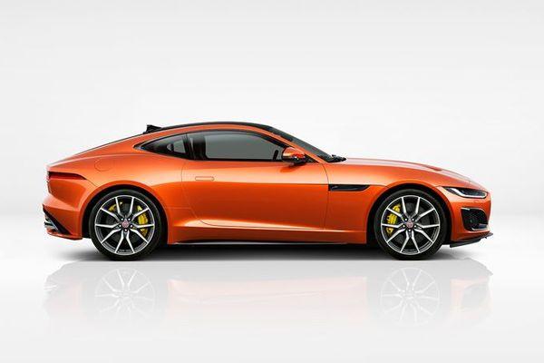 Illustrasjonsbilde av Jaguar F-TYPE